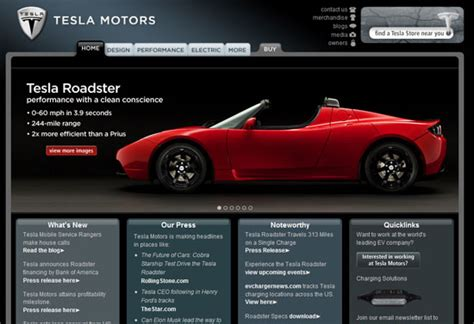 Tesla Motors Website Most Important Tesla Institutions And Websites In The World