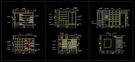 Study Room Design Drawings V 2 Cad Drawings Download Cad