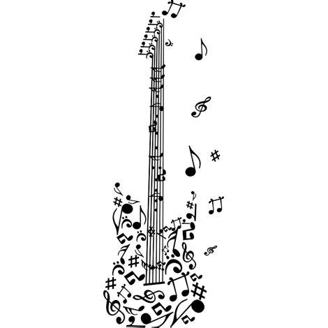 imagenes notas musicales para guitarra guitarra png 470 215 470 planner 2017 pinterest musica