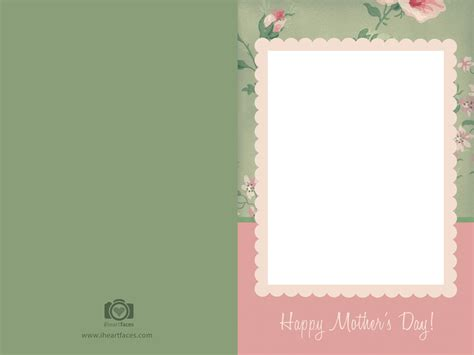 mothers day card templates free s day photo card templates iheartfaces