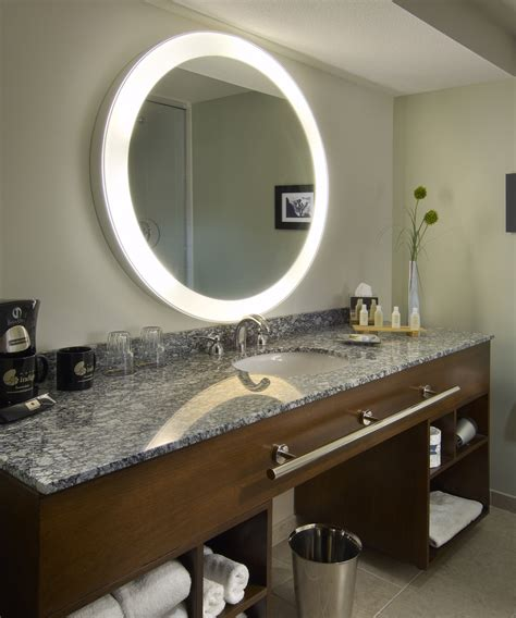 Lighted Mirrors For Bathrooms Modern by Mirrors Backlit Bathroom Mirror For Your Modern