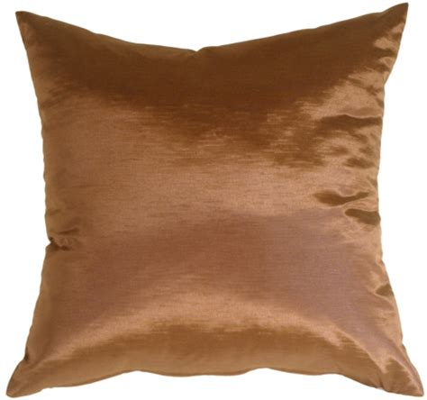 Copper Pillow by Metallic Copper Throw Pillow Pillow D 233 Cor
