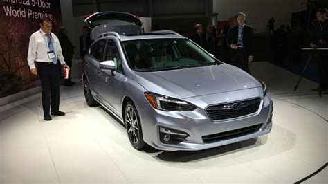 2017 subaru impreza sedan silver 2017 subaru impreza hatch and sedan gallery photos