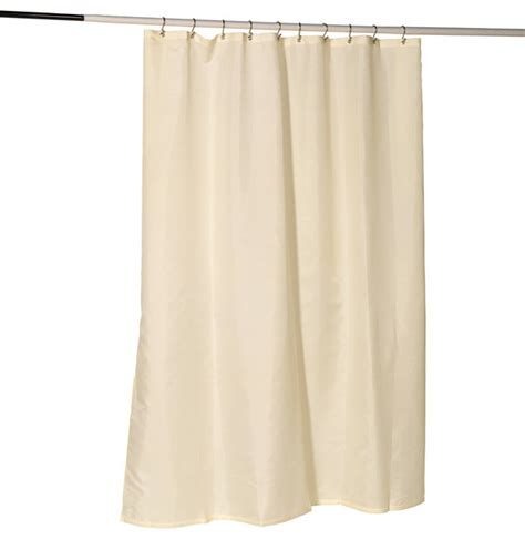 shower curtain grommets nylon fabric shower curtain liner w reinforced header and