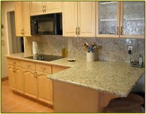 Kitchen Backsplash Stick On by Giallo Vitoria Granite Home Depot Home Design Ideas