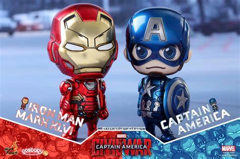 Toys Cosbaby Iron I Metallic Colour Version Bobble toys cosbaby cosb260 captain america iron xlvi metallic color edition