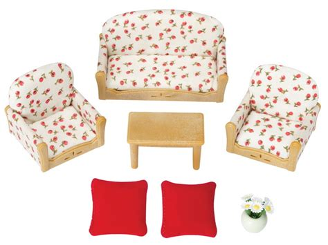 Comfortable Furniture Living Room Suite Calico Critters