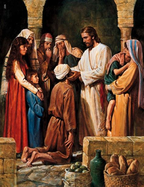 God Heals The Blind Man 15 Best Images About Anointing Of The Sick On Pinterest