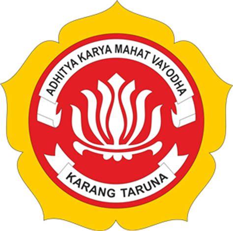 membuat logo karang taruna karang taruna logo vector cdr free download