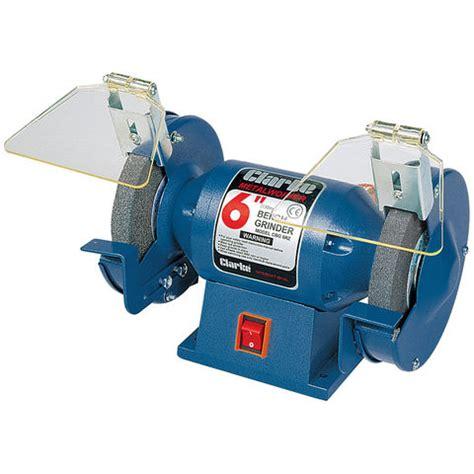 clarke bench grinder clarke cbg6rz 6 quot bench grinder machine mart machine mart