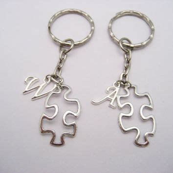 Personalized Puzzle Keychain best personalized puzzle keychain products on wanelo