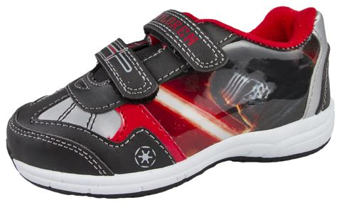 flat character shoes boys disney wars sports trainers flat skate shoes