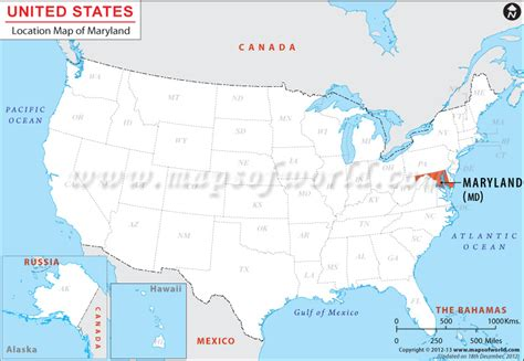 where is maryland in usa map where is maryland located location map of maryland