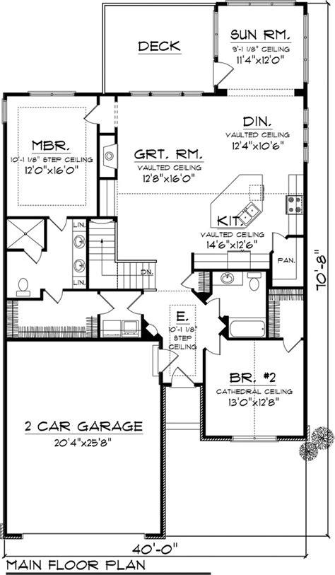 75 sq feet house plan 2 beds 1 75 baths 1662 sq ft plan 70 1110