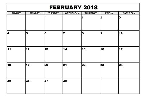 free large blank landscape calendar from formville printable calendar 2018 templates print calendar template