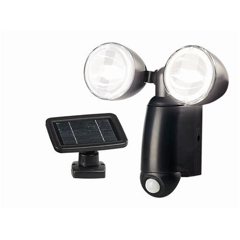 solar magic 18 led black solar security sensor light i n