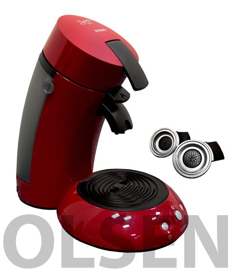 senseo kaffeemaschine preis philips senseo hd 7810 90 rot kaffeemaschine classique