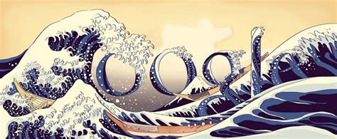 best doodle of all time birthday of katsushika hokusai