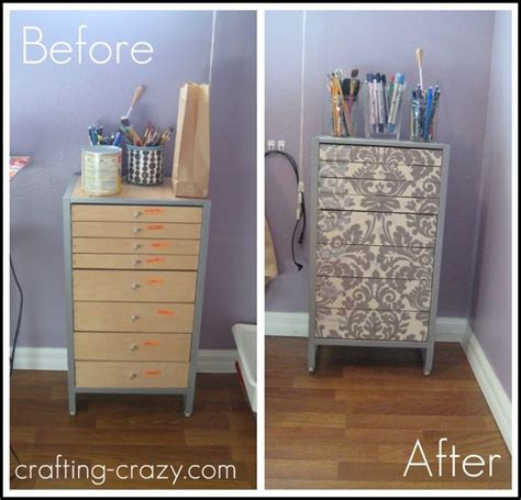 tutorial for mod podging fabric to drawer fronts aurelia