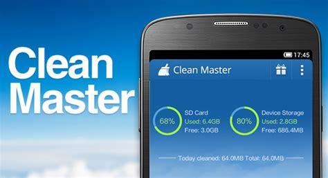 clean master android clean master el optimizador de memoria apk free