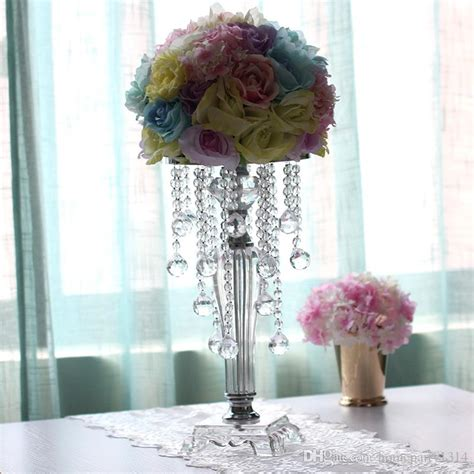 fashion wedding crystal table centerpieces flower