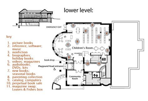 are house floor plans public record floor plan groton public library