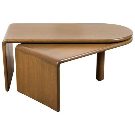 Foldable Coffee Table Quot Fanette Quot Foldable Coffee Table By Guillerme Et Chambron For Sale At 1stdibs