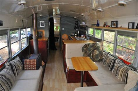 Small Chandeliers Canada Bus Conversions 8 Ways To Turn An Old Bus Into A Home