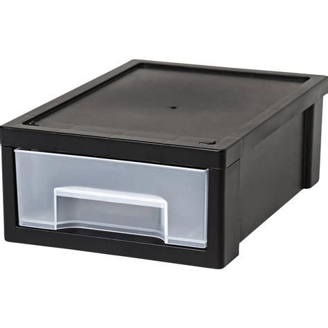 small drawer organizer black iris 6 89 in x 3 63 in black small desktop stacking