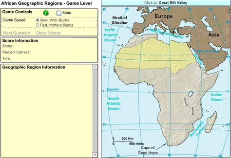 africa map quiz sheppard interactive map of africa geographic regions of africa