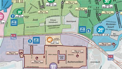 museum plein amsterdam parking parkeren de boelelaan amsterdam
