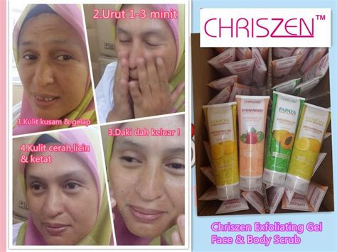 Scrub Chriszen buy chriszen exfoliating gel 250g deals for only rm14 9 instead of rm17 9