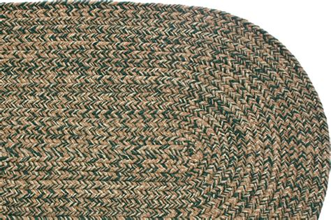 stroud rugs blend green braided rug