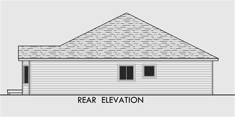 view house plans one level house plans side view house plans narrow lot house