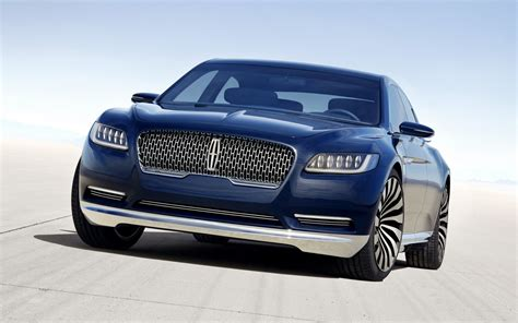 2016 lincoln continental concept wallpaper hd car wallpapers