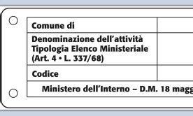 interno it registrazione registrazione delle attrazioni un nuovo decreto modifica