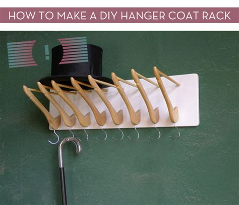 Make Hanger - how to make a diy hanger coat rack 187 curbly diy design