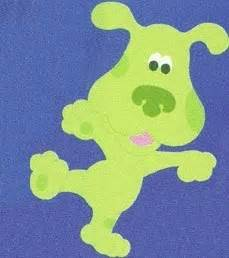 blues clues green image greenpuppyclues jpg blue s clues fanon wiki fandom powered by wikia