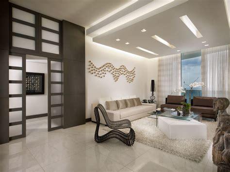 Trump Tower Miami Apartment Contemporary Living Room Miami by Guimar Urbina KIS