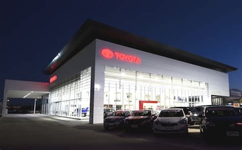 details of toyota showroom graphos architects media