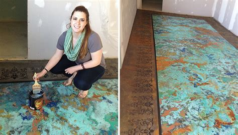 Amazing Kitchen Designs Custom Patina Floor Makeover General Finishes Design Center
