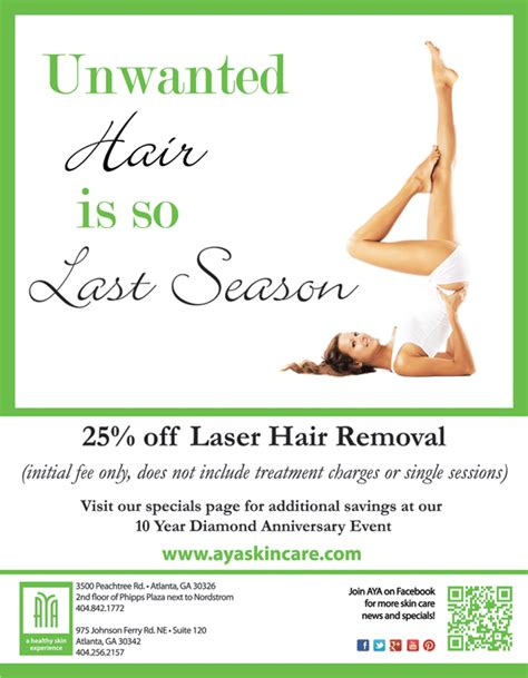 Save 25% on Atlanta Laser Hair Removal Treatments at this