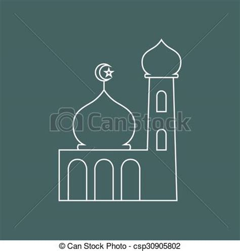 Simply Me Graphic 4 vector clipart of mosque simple graphic of a mosque
