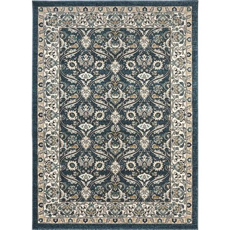10 x 10 area rugs tayse rugs kensington navy 7 ft 10 in x 10 ft 3 in indoor area rug kns1007 8x10 the home depot
