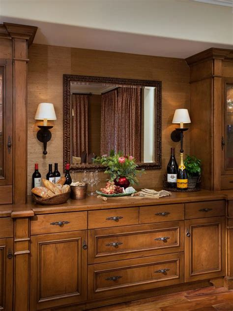 Dining Room Bar Buffet by Built In Dining Room Bar And Buffet Hgtv