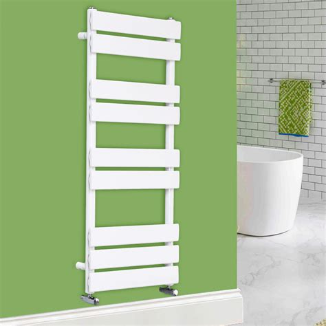 White Towel Rails For Bathrooms by Designer Flat Panel Bathroom Heated Towel Rail Radiator