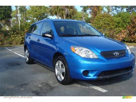 Blue Toyota Matrix 2007 Toyota Matrix In Speedway Blue Pearl 660792 Jax