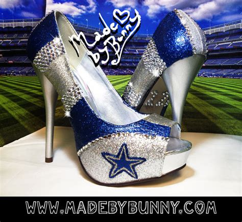 dallas cowboys womens high heels unavailable listing on etsy