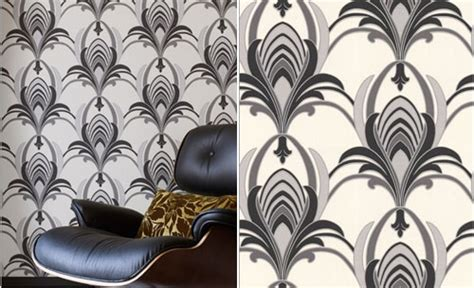 wallpaper design styles in 1930 1930s inspired glamour wallpaper by graham brown retro