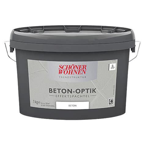 Betonoptik Spachtel by Sch 246 Ner Wohnen Effekt Spachtel Trendstruktur Beton Optik